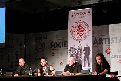 Rueda de prensa y pre-escucha Saratoga 2018