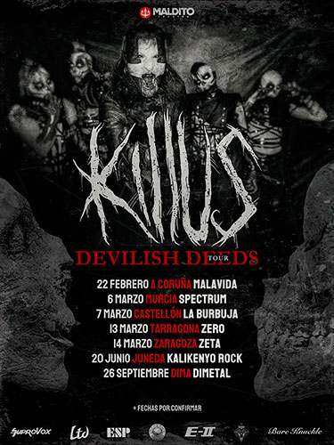 Killus Devilish Deeds Tour