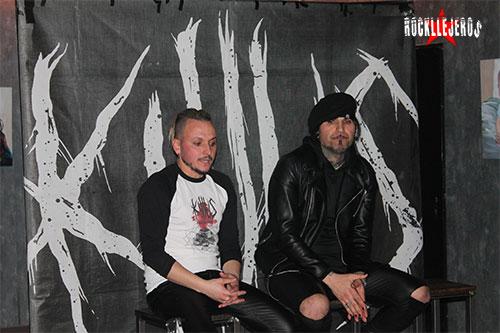 "KILLUS presenta su nuevo disco ""Devilish Deeds"""