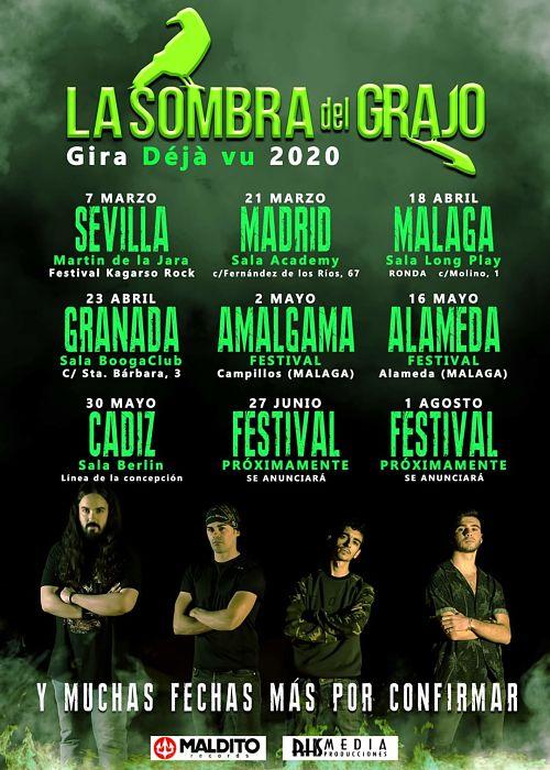 La Sombra del Grajo concierto en Alameda - Málaga @ Alameda Festival