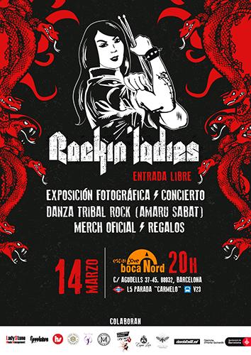 Rockin' Ladies en Barcelona para el 14 de marzo