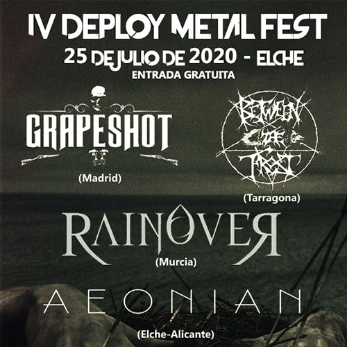 Deploy Metal Fest completan el cartel con 4 bandas