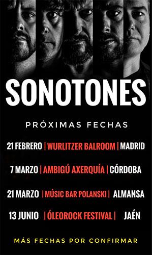 Sonotones en Almansa @ Music Bar Polanski